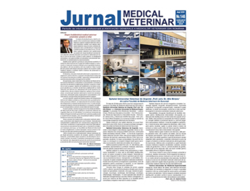 Jurnalul Medical Veterinar 146 / Ianuarie– Martie 2020