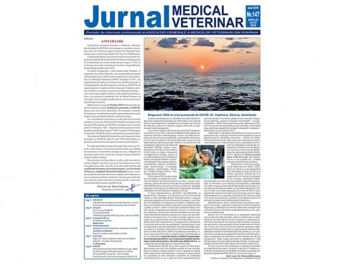 Jurnalul Medical Veterinar 147 / Aprilie – Iulie 2020